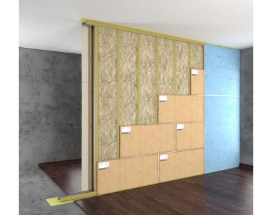 Standard P Partition Sound Insulation System