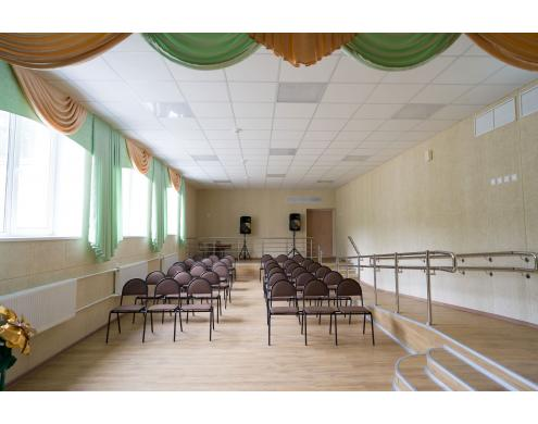 School assembly hall, Krasny Bor