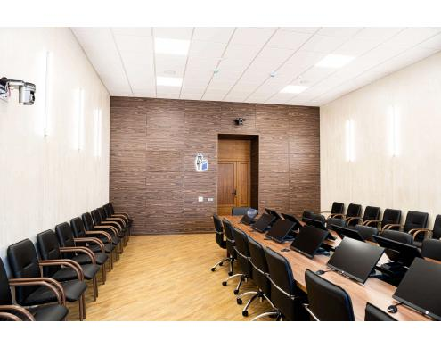 Sound insulation of the conference hall in Samara State Medical University