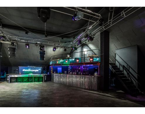 Soundproofing and acoustic treatment of Boodoopeople night club/music hall